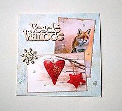 Papiernictvo - Vianočná pohľadnica - 8926920_