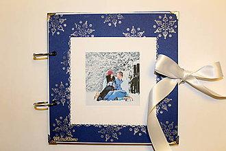 Papiernictvo - Zimný fotoalbum - 8930226_