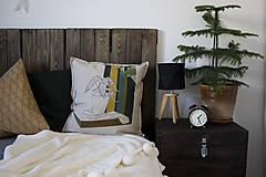 Úžitkový textil - Ručne maľovaná obliečka na vankúš PRALA kvetináčová III. - 8930219_