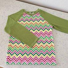 Detské oblečenie - Tričko-zubatice vel.146 - 8930694_