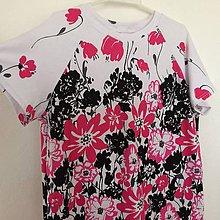 Detské oblečenie - Tričko-v květu vel.146 - 8930716_
