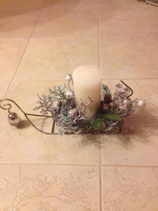 f65e024e8 Vianočná dekorácia - sane trochu inak / Brigitstyle - SAShE.sk ...