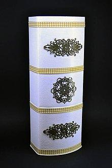Nádoby - Dóza, krabica, váza - 8930521_