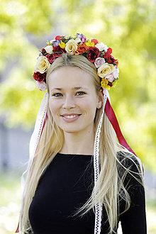 Ozdoby do vlasov - Čelenka-PARTA Veronika - 8928661_