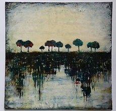 Obrazy - Stromy na horizonte - 8929264_