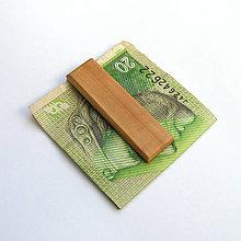 Tašky - Tŕnková spona na peniaze - 8930105_