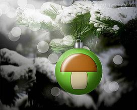 Grafika - Vianočná guľa (grafický obrázok) - hríbik - 8930412_