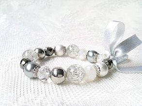 Náramky - Winter love bracelet - 8933869_