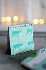 Papiernictvo - Vianočný zápisníček *3 - 8931843_