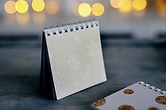 Papiernictvo - Set troch vianočných zápisníčkov - 8931850_