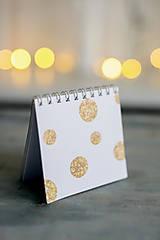 Papiernictvo - Set troch vianočných zápisníčkov - 8931851_
