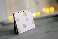 Papiernictvo - Set troch vianočných zápisníčkov - 8931853_