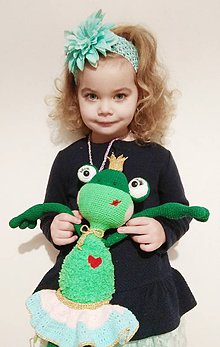 Hračky - Žabka princezná - 8934593_