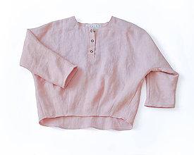 Detské oblečenie - Tunika HUGO ružová - 8931362_