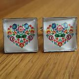 Šperky - Manžetové gombíky FOLK - 8933515_