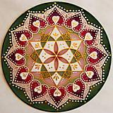 Dekorácie - Mandala lásky a srdcovej čakry - 8934696_