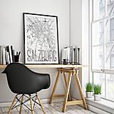 Obrazy - SALZBURG, elegantný, biely - 8934130_