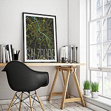 Obrazy - SALZBURG, elegantný, čierny - 8932518_
