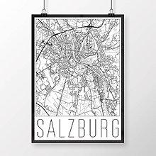 Obrazy - SALZBURG, moderný, biely - 8934117_