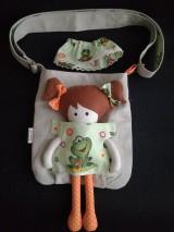 Kabelky - Kabelka s bábikou - žabka. - 8933695_