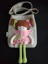 Kabelky - Kabelka s bábikou - mandala. - 8933768_