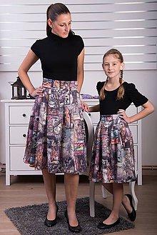 0b574d7949b0 Detské oblečenie - Zľava posledné kusy - Sukňa scuba pre malú dámu -  8932229