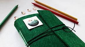 Papiernictvo - Diár Softwille Smaragd - 8931618_