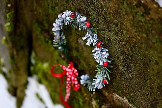 Ozdoby do vlasov - Vianočný venček - 8934801_