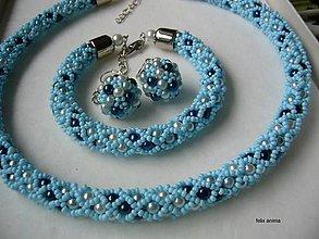 Sady šperkov - Sada NEZÁBUDKA - vyskladaj si vlastnú sadu - 8931599_