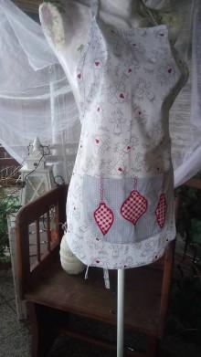 Iné oblečenie - Vianočná zásterka - 8932277_