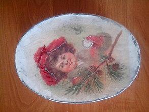 Krabičky - slečna vianočná - 8938112_