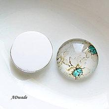 Iný materiál - 511 Kabošon sklenený - 8938222_