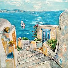 Obrazy - Santorini - 8937494_