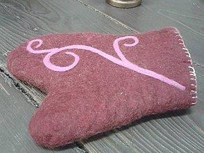 Úžitkový textil - vlnená chňapka - 8935687_