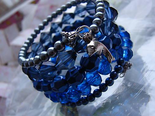 náramky (Modrá)