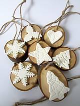 Dekorácie - Sada vianočných ozdôb - 8938762_