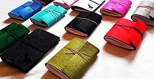 Kabelky - Obal na tablet, notebook/Listová kabelka s brošňou - 3 farby - 8938663_