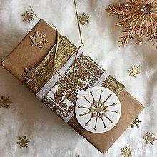 Papiernictvo - Visačka vianočná Bambuľka - 8935375_