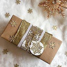 Papiernictvo - Visačka vianočná Bambuľka - 8935404_