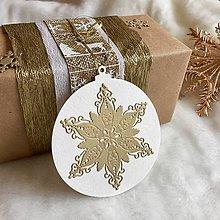 Papiernictvo - Visačka vianočná Bambuľka - 8935423_