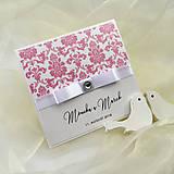 Papiernictvo - Svadobné oznámenie  - 8936941_