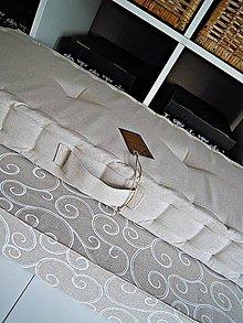 Úžitkový textil - sedák na mieru na vyzliekanie - 8937988_