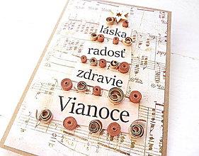 Papiernictvo - vianočná pohľadnica - 8935727_