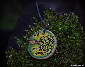 Náhrdelníky - Nature is my home - 8941830_