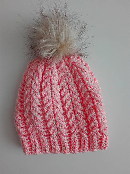 7be645f0e Háčkovaná čiapka / alica.galisova - SAShE.sk - Handmade Detské čiapky