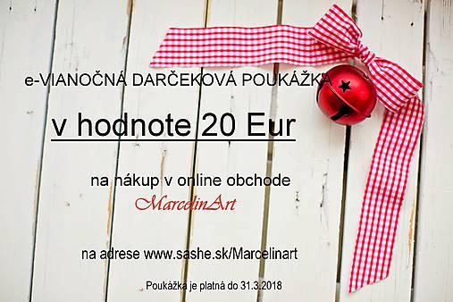 d78440ec2 Darčeková poukážka Vianoce v hodnote 20, 30, 50, 70 Eur - dohoda ...