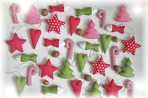 932282aa3 Vianočné ozdoby- červeno-zelené / adaTN - SAShE.sk - Handmade Dekorácie