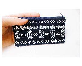 Peňaženky - Peňaženka/taštička/obal na mobil Čičmany - 8938968_