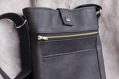Tašky - Korková pánska taška - 8940863_