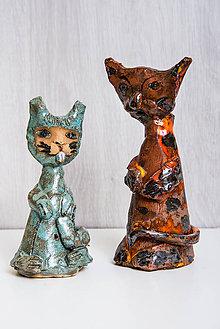 Socha - Andreas: Keramická mačka - 8941143_